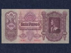 Extra szép Második sorozat (1927-1932) 100 Pengő bankjegy 1930 / id 11045/
