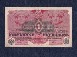 Osztrák-Magyar Korona bankjegyek (háború alatt) 1 Korona bankjegy 1916 / id 10762/