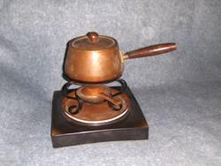 Retro fondue készítő (pi-2p)