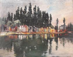 Magyar festő: Tükröződés