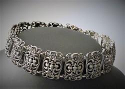 Antik Bécsi ezüst nyakpánt