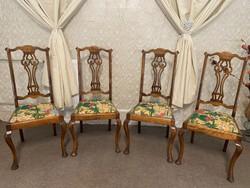 4 db Antik chippendale szék!