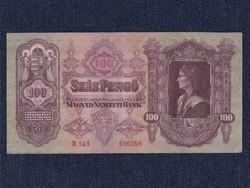 Extra szép Második sorozat (1927-1932) 100 Pengő bankjegy 1930 / id 11047/