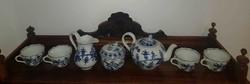 Meisseni teás készlet 4 személyes