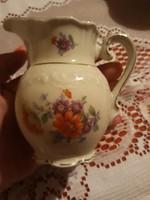 Német porcelán tejkiöntő