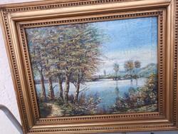Olaj vászon festmény keret árban