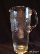 Antik üveg kancsó