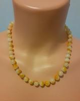Kalcit nyaklánc (gyöngysor)