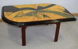 Günther Frank 88 Hohnert Design asztal, eredeti designer asztal