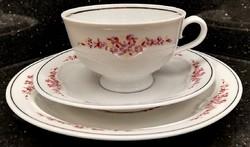 Lettin porcelán kávés, teás, reggeliző csésze, szett