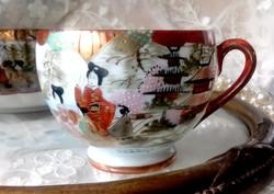 Japán tojáshéj porcelán teás csésze