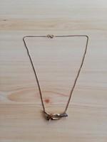 1,-Ft Gyönyörű női 8K arany colier nyaklánc!