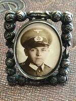 2. világháborús fotók kerettel 2 db