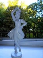 Nagy  Hollóházi Csárdáskirálynő porcelán figura- 28 cm