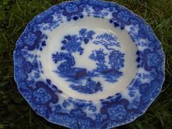 Thomas Dimmock&Co cége 1829-1859 között működött megmaradt gyönyörű állapotában ez az egyedi tányér