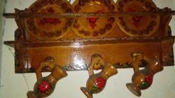 Mini konyhapolc tányérokkal,korsókkal