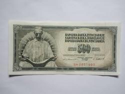 Hajtatlan  500 Dínár 1981 !! ( 2 )