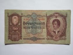 Szép 50 Pengő 1932 !!  ( 2 )