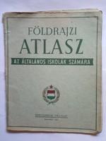 Régebbi földrajzi atlasz  !!