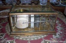 Műszaki ritkaság: Antik légnyomás- és hőmérsékletíró