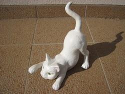 Régi öntöttvas cica - macska