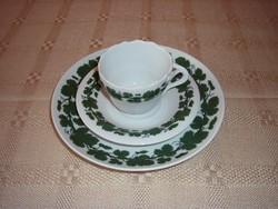 Meissen kávés reggeliző szett