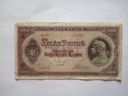 100 Pengő 1945  !! ( 2 )
