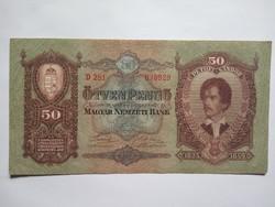 Extra szép 50 Pengő 1932 !!  ( 2 )