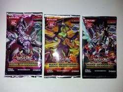 Yu-Gi-Oh kártyacsomag  ( 3 csomag )