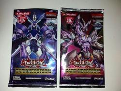 Yu-Gi-Oh gyűjthető kártyacsomag  ( 2 csomag )