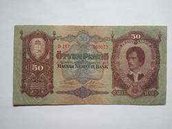 Szép 50 Pengő 1932 !!  ( 4 )