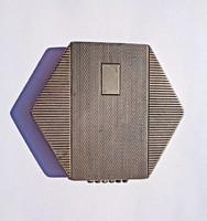 1966 előtti pénzverdés tükrös púderes doboz