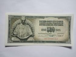 Hajtatlan  500 Dínár 1981 !!