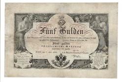 5 forint / gulden 1866 1.