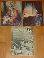 KÉPES VASÁRNAP 1937,1938,1939   3 DB!!!!