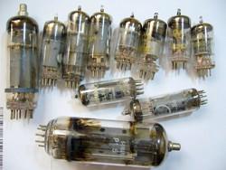 Elektroncsövek ECH81,PCF802,PCL86 ,PCF80 ,PL500 ,PCL84 SIEMENS-MPL csomagautomatába is