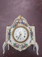 Dresden csodálatos, antik barokk stílusú kandalló óra.