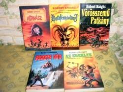 Robert Knight 5 darabos sci-fi könyvcsomag