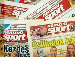 2012 november 6  /  Nemzeti SPORT  /  SZÜLETÉSNAPRA! RETRO, RÉGI EREDETI ÚJSÁG Szs.:  10403