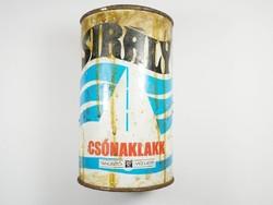 Retro festékes doboz - SIRÁLY csónaklakk - Budalakk gyártó - 1970-es évekből