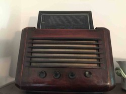 Antik régi olasz rádió (1941 Radio Canora Milano)