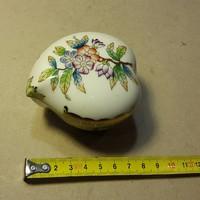 Herendi porcelán bonbonier, hibátlan állapotban, ajándék.