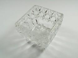 Üveg tál tálka