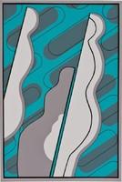 Deim Pál - Korzó 42 x 28 cm színes szita 2011-ből