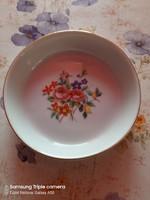 Régi Hollóházi porcelán tálka