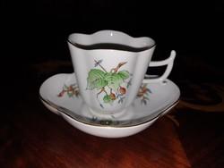1,-Ft Ritka Herendi csipkebogyós hecsedli kávés csésze