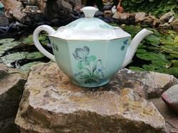 Kőbányai Porcelán teáskanna, porcelán, nosztalgia darab Gyűjtői szépség.