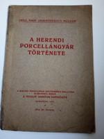 A Herendi gyár története 1921
