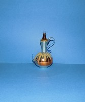 Antik üveg kancsó karácsonyfadísz 9 cm (1)