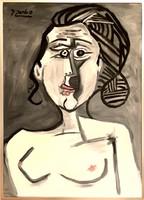 D. Szabó/ Pablo Picasso ihlette portré